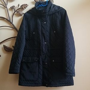 MERONA Like New Spring/Fall Quilted Car Coat, CUTE